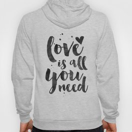 LOVE WALL DECOR, Love Is All You Need,Family Sign,Family Gift,Living Room Decor,Boyfriend Gift,Coupl Hoody