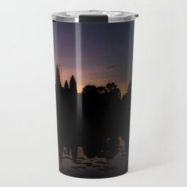 Dawn at Angkor Wat Travel Mug
