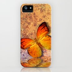 butterfly  Slim Case iPhone (5, 5s)