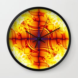 multiple mirrors Wall Clock