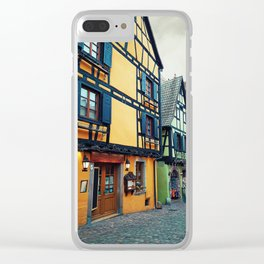Riquewihr streets Clear iPhone Case