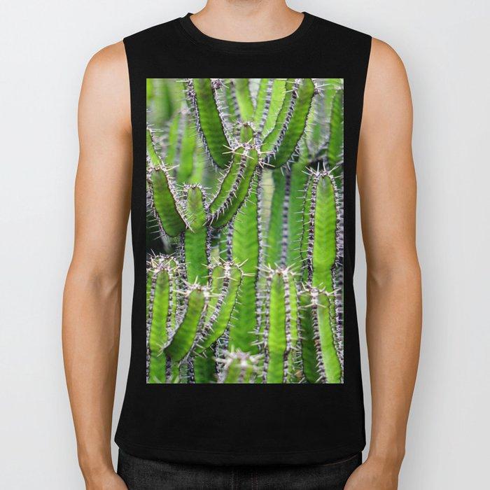 Cactus Mania Biker Tank