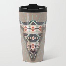 Cow Skull Induco Travel Mug