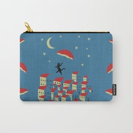 Upton The Cat And His Evening Adventures Carry-All Pouch