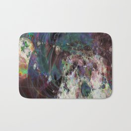 Large Wall Art- Home Decor- Interior Design- OverThere- Abstract Art- Sacred Geometry Bath Mat