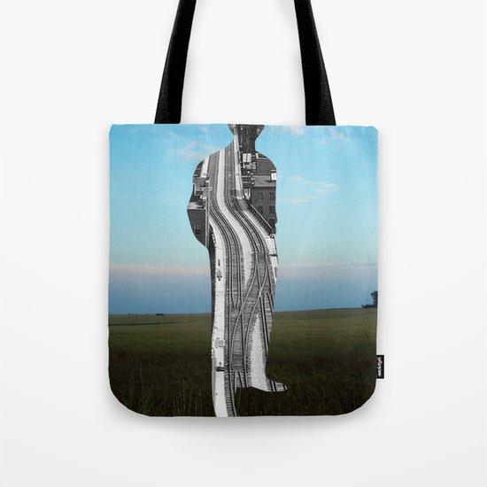 City Man´s Dream Collage Tote Bag