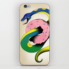 Donut Snake iPhone Skin
