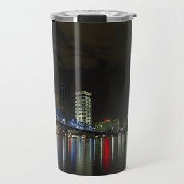 Jacksonville at Night Travel Mug