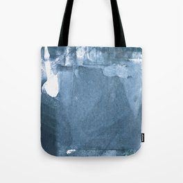 Blue and White Abstract Painting 2 Tote Bag