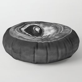 Ouroboros Yin - Yang  Floor Pillow