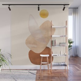 Abstact Shapes Wall Mural