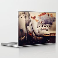 sport Laptop & iPad Skins featuring Volvo Sport by Anna Dykema Photography