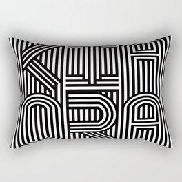 KiaOra New Zealand Greeting (Square) Rectangular Pillow