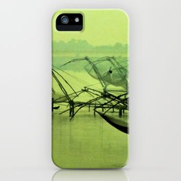 Dusk and the port iPhone Case