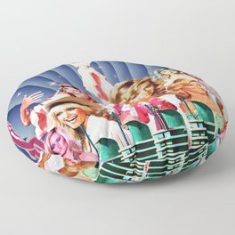 Xanadu Olivia Newton-John Floor Pillow