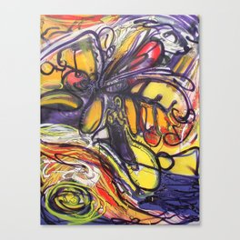 2011 Current Canvas Print