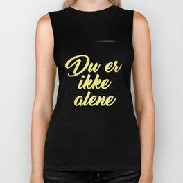 SKAM - Evak - Du er ikke alene // You're not alone Biker Tank