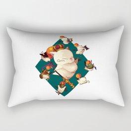 King Moogle Mog Rectangular Pillow