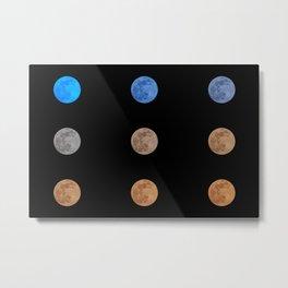 Mooningful full moon Metal Print
