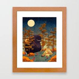 The Opposite Framed Art Print