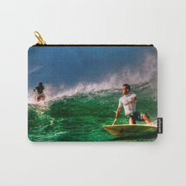 Surfing In Costa Rica Carry-All Pouch