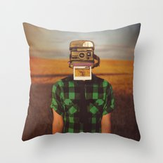 I See What You See Throw Pillow