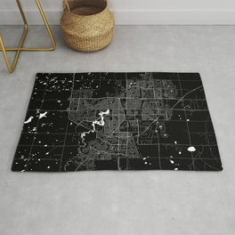 Regina - Minimalist City Map Rug
