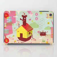 the neighbourhood iPad Cases featuring Benny's Lunch Simulation by Sauerkids