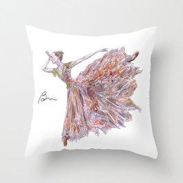 Isabella Boylston Throw Pillow