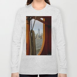 Freedom Tower through The Boat Long Sleeve T-shirt
