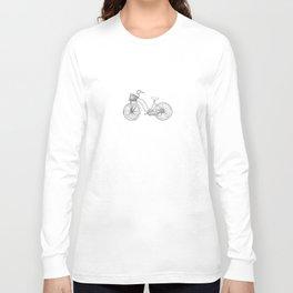 TWO SUSPENSION MOUNTAIN BIKE Long Sleeve T-shirt