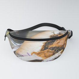 Pulled pork sandwich with cheese sauce Fanny Pack