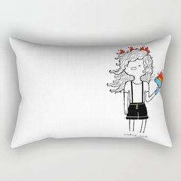 On Fire by Sarah Pinc Rectangular Pillow