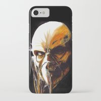satan iPhone & iPod Cases featuring Dr. Satan by Zombie Rust