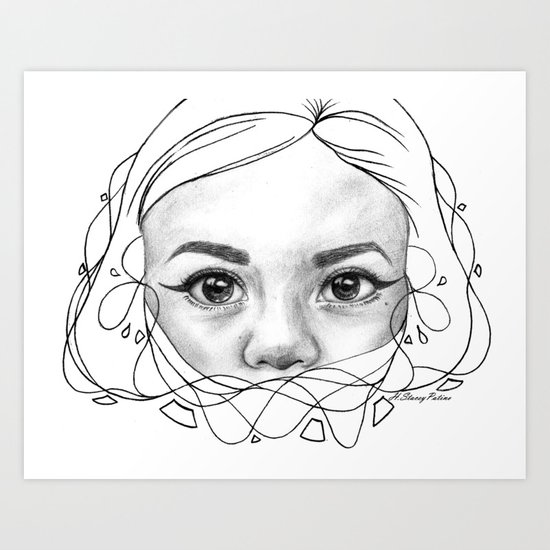Through a Child's Eyes Art Print