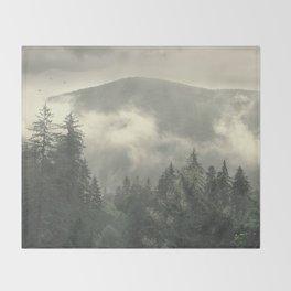 Carpathian Mountains - Transylvanian Alps Throw Blanket
