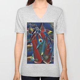 """""""Rainbow Horse"""" Unisex V-Neck"""