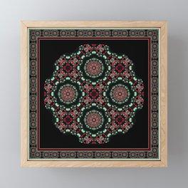 Holiday Mandala Framed Mini Art Print