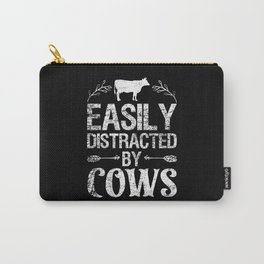 Cow Distracted Carry-All Pouch