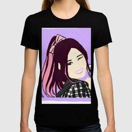 Knock Knock! Sana Purple T-shirt