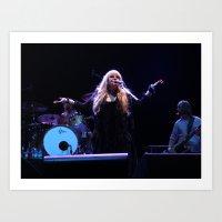 stevie nicks Art Prints featuring Stevie Nicks by Molly Johnson