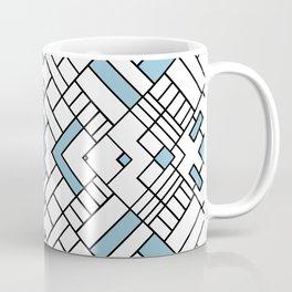 PS Grid 45 Sky Blue Coffee Mug