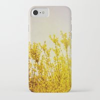 coldplay iPhone & iPod Cases featuring And it Was All Yellow by Olivia Joy StClaire