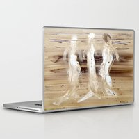 spiritual Laptop & iPad Skins featuring Spiritual Encounters by Nut Houch Art
