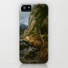 Johann Christian Clausen Dahl Nordic Landscape iPhone Case