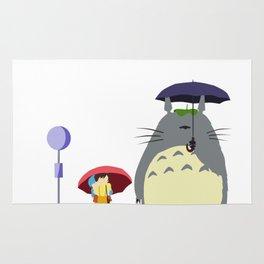 Rain scene from HayaoMiya.. Rug