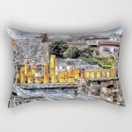 Stacked Rectangular Pillow