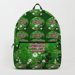 Tender Mercies Backpack