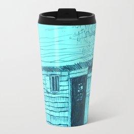 Turquoise New World Travel Mug