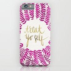 Treat Yo Self – Pink & Gold iPhone 6 Slim Case